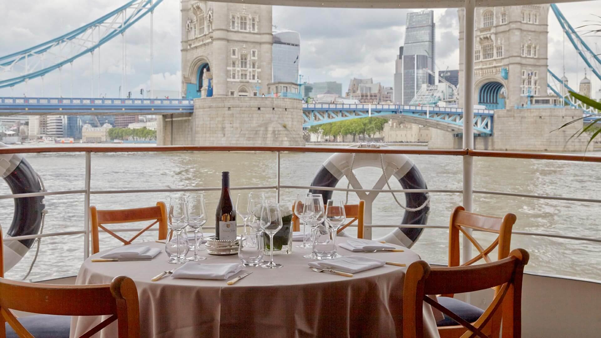 Edwardian Luxury London Party Boat Hire Fleet Thames