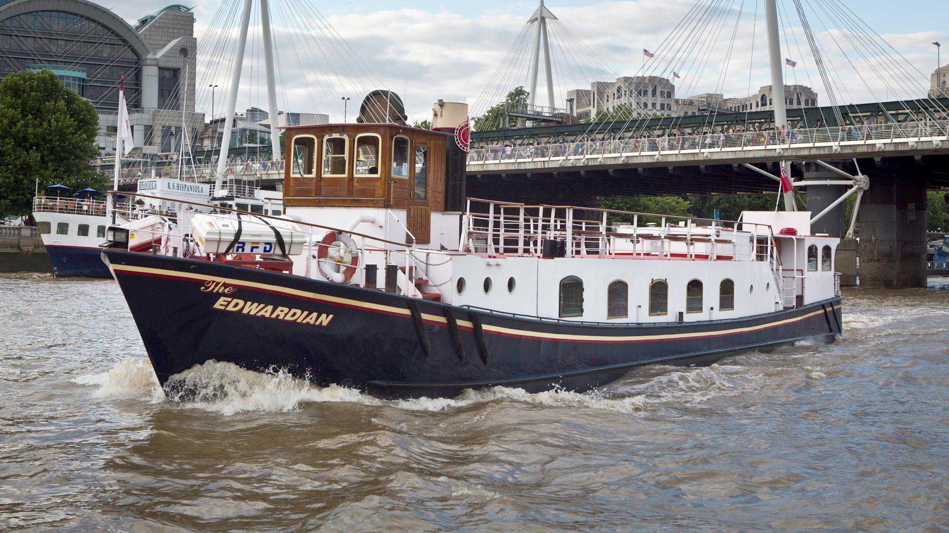 Edwardian Luxury London Party Boat Hire Fleet Thames