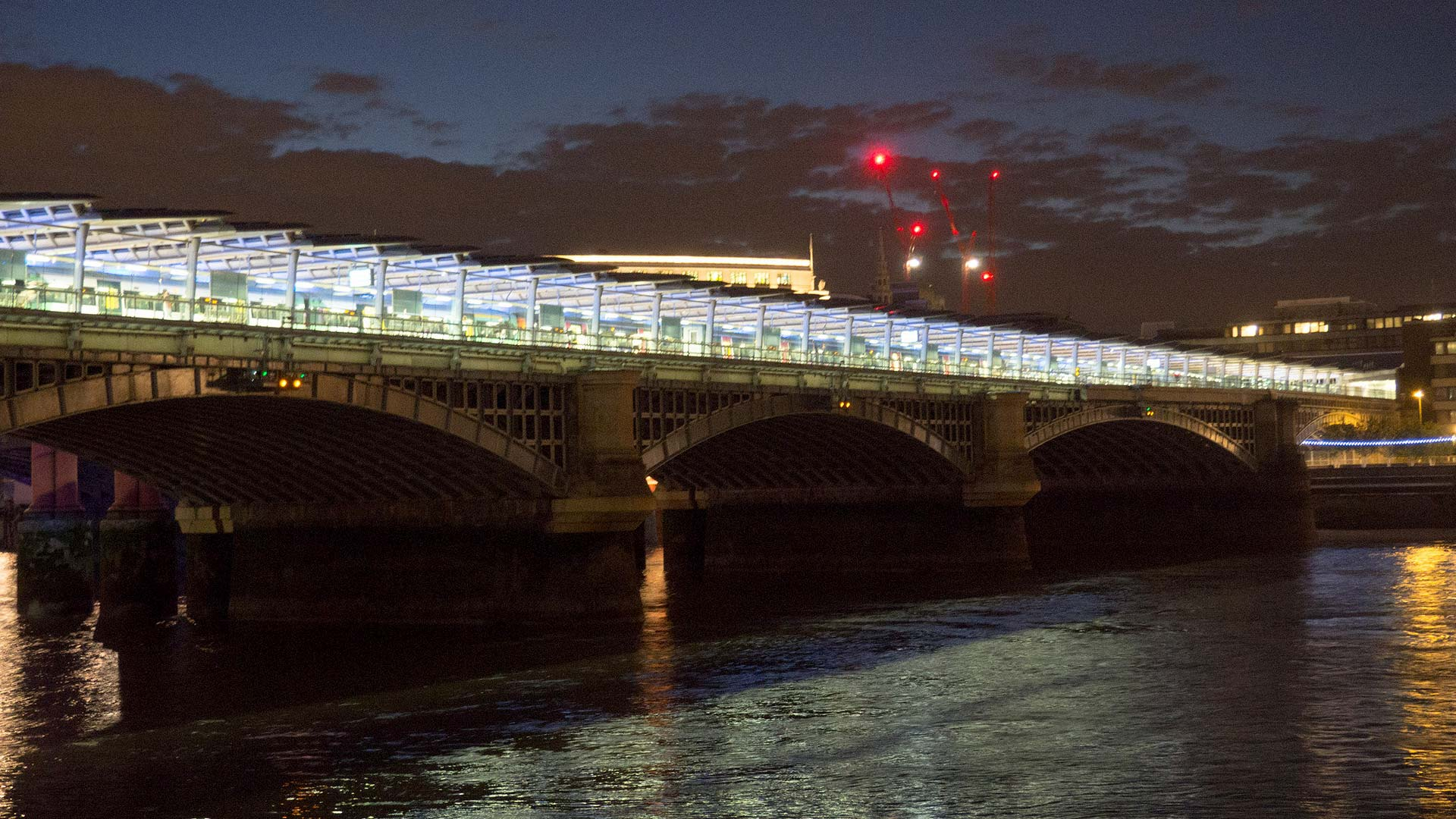 Blackfriars Pier | Boat Hire | Thames Luxury Charters